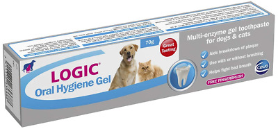 LOGIC Oral Hygiene Gel for Dogs & Cats, Small
