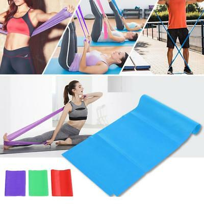 1.8M Yoga Elastic Strap Stretch Strap Rubber Stretch Resistance Exercise Band SD