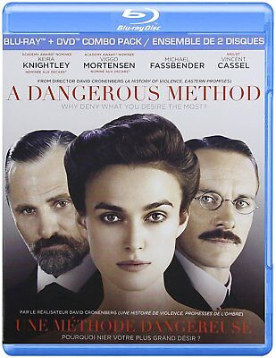 A Dangerous Method [Blu-ray + DVD Combo Pack] New and Factory Sealed!!