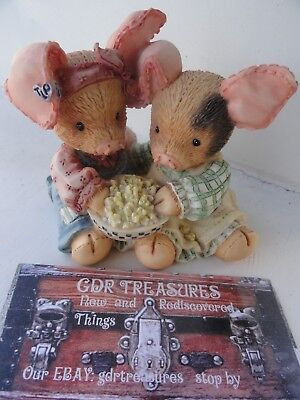 1994 THIS LITTLE PIGGY NEVER A BOAR WITH YOU by Enesco