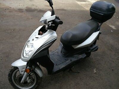Sym Symply 50Cc 2010 Salvage Bike Scooter Ped