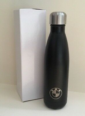 NEW BMW S'well bottle thermos Stainless steel 17 oz  - Black Swell