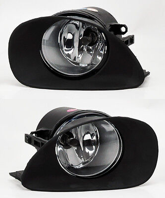 Front Bumper Clear Fog Lights Lamps w/ Switch for Toyota Yaris 06-08 Hatchback