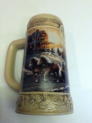 Terry Redlin Miller Beer Stein Ducks Unlimited First Series Welcome To Paradise