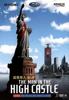 The Man In The High Castle Import Dvd Set With All 10 Episodes