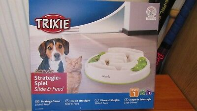 NWOT TRIXIE Pet Products Activity Slide and Feed ~ for dogs or cats