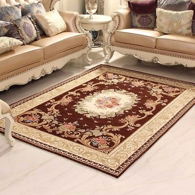 European carpet style for living room,bedroom area rug look antique home decor