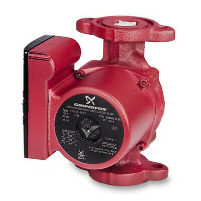 Grundfos UPS15-58FC 3-Spd Circulator Pump, 1/25 hp, IFC 59896341