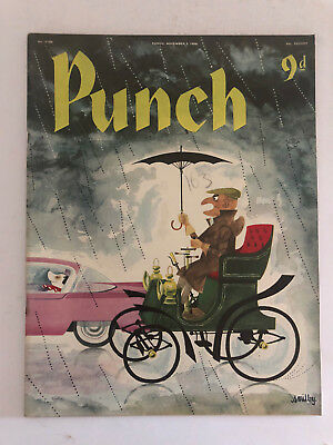 PUNCH Magazine November 5 1958