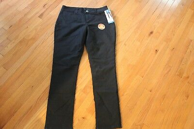 b9285e30 Riders By Lee Women's Fleece Lined Jeans Size 14L Mid Rise Skinny Black -  NWT