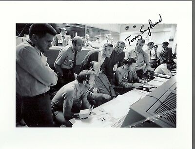 AUTOGRAPH, HAND SIGNED APOLLO 13 SUPPORT CREW Astronaut TONY ENGLAND