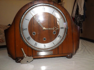 Smith Clock Westminster Shime   With                K6A587 Movement