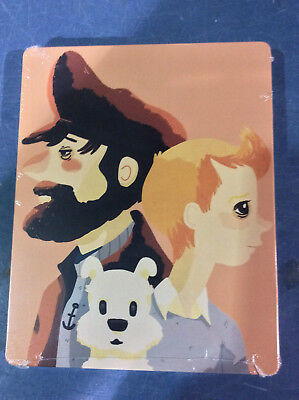 The Adventures of Tintin - Limited 3D Edition Steelbook [Blu-ray 3D] AS IS!!(d)