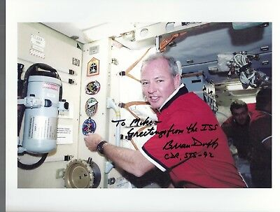 Autograph, Hand Signed Sts-92 Astronaut: Brian Duffy