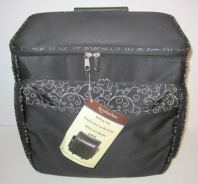 Rolling Tote by Recollections - Black/White