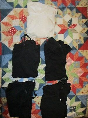 Nursing tanks, lot of 5, black/white, size M/L, Motherhood