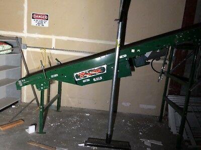 Power Incline Belt Conveyor - Rapistan 23'
