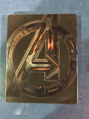 Avengers: Age of Ultron (Vision) - Ltd. Edition Steelbook [3D+Blu-ray] AS IS!(d)