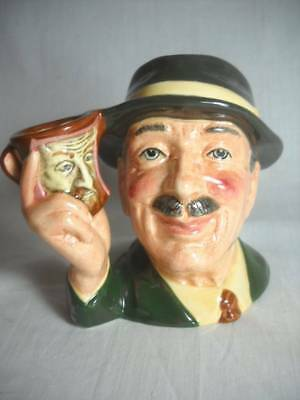Scarce Royal Doulton Toby Mug The Collector D6906 Limited Edition Excellent