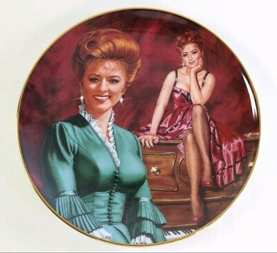 Gunsmoke MISS KITTY Plate Franklin Mint TV Television Show Old West