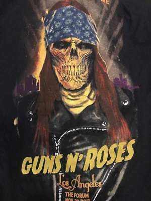 Guns N Roses Large Shirt Axl Rose Forum Los Angeles Ooficial Show Merch Large