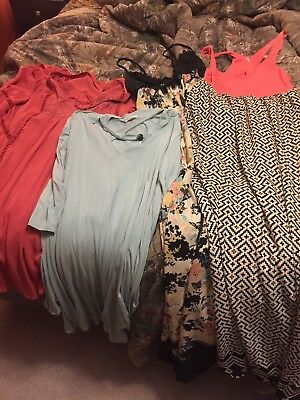 Lot Of 4 Dresses. Size Large