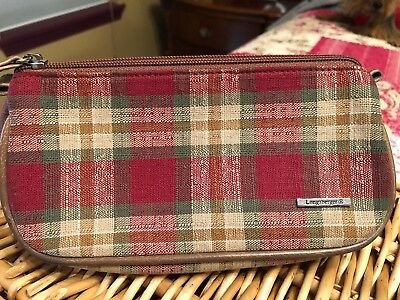 Longaberger Cosmetic Bag Small