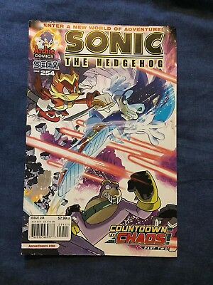Archie sonic issue 254