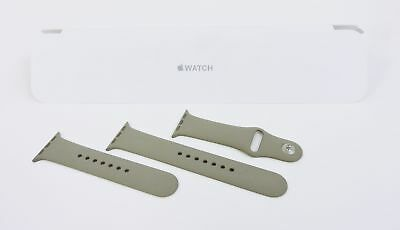 Original Apple Watch 38mm Pebble Sport Band Silver Pin