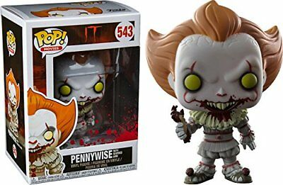 Funko 29527 It 2017 Pennywise with Severed Arm Pop Vinyl Figure, Multi-Colour
