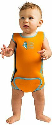 Cressi Kids Infant Warmer Thermal Wetsuit, Orange, 6-12 Months