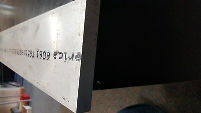 "6061 Aluminum Flat Stock  3/4 x 5"" x 8 1/2"" Long"