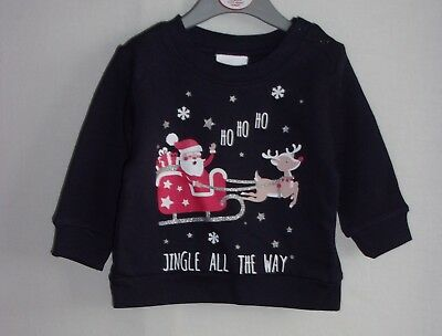 Bnwt Christmas Selection Of Baby/Infant/Junior Sweatshirts/Knitwear £££ Slashed
