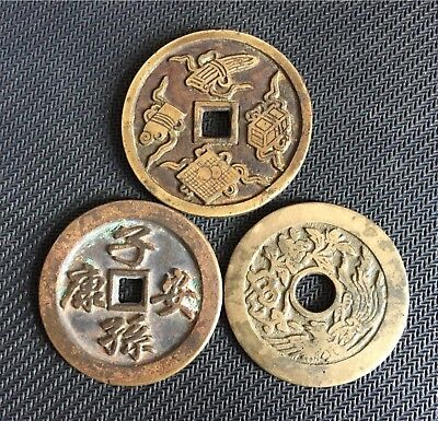 China Schriftzeichen Charms /charms  with Coin Inscriptions