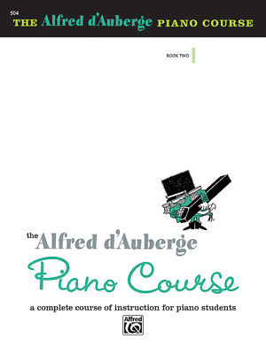 """Alfred d'Auberge Piano Course"" MUSIC BOOK 2-LESSON-BRAND NEW ON SALE-METHOD!!"