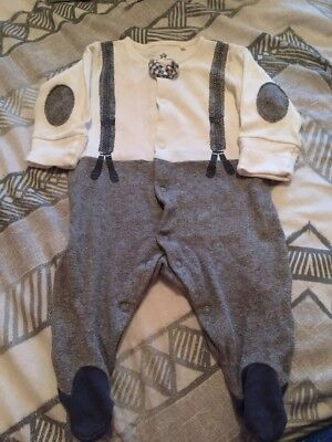 Baby Boys Next First Size Sleepsuit