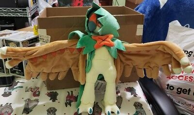 "13.5"" Decidueye Poke Plush Large Size Official Pokemon Center Dolls Toys"