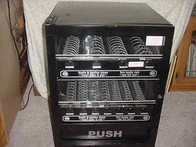 Table Counter Top Mechanical Snack Vending Machine 2-tier 11-item Good Cond used