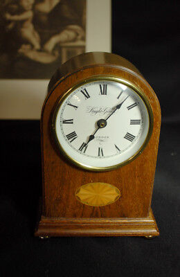 Wooden Mantel Clock -Knight & Gibbins London
