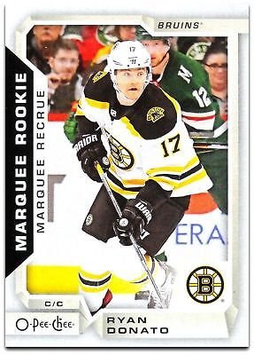 2018-19 O-Pee-Chee MARQUEE ROOKIES  501 -550 Pick From List