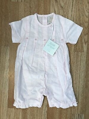 Emile Et Rose Girls 3-6 Months Romper