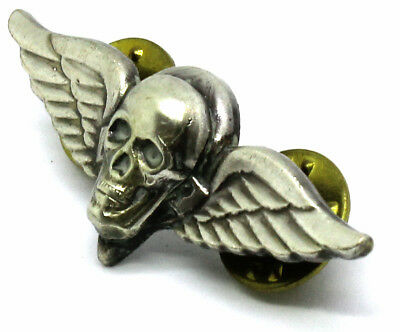 Airborne Rigger Skull Jump Wing Badge Insignia Army Parachute Military Pin