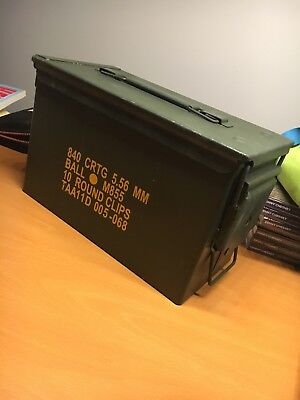 M2A1 Ammo Can Military Surplus .50 Caliber