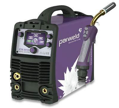 PARWELD XTM201DI Digital Dual Voltage Multi Process Welding Machine 110/230v