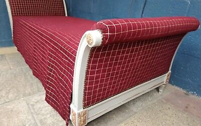 French Vintage Sleigh Day Bed.