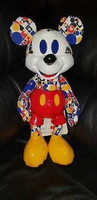 Mickey Mouse Memories March 18 Plush Limited Edition UK Disney Store 3/12