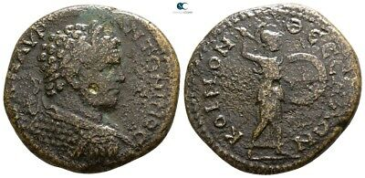 Savoca Coins Koinon Of Macedon Caracalla Athena Itonia 11,56 g / 27 mm @WFG2249