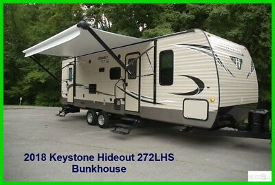 2018 Keystone Hideout 272LHS Travel Trailer Towable Pull Behind Camper Used RV