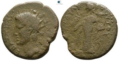 Savoca Coins Koinon Of Thessaly Divus Augustus Apollo 10,53 g / 25 mm @WFG2254