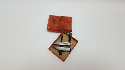 """Boxed & Little Used 2"""" MOORE & WRIGHT Toolmakers Engineers Parallel Clamp 10245"""
